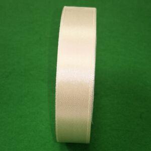 Szatén szalag – Vajszínű, 2cm