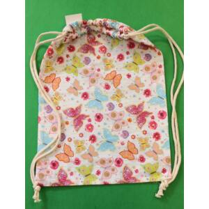 Összehúzható ovis hátizsák – Pillangó mintával