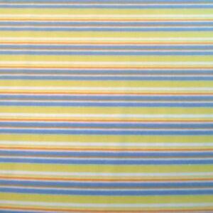 Bébiplüss – Sárga-kék csíkos mintával