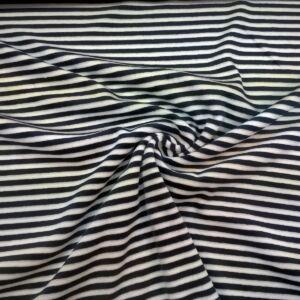 Bébiplüss – Kék-fehér csíkos mintával