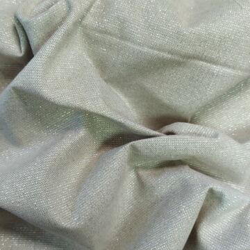 Panama vászon – Nyers alapon ezüst színű lurex szállal