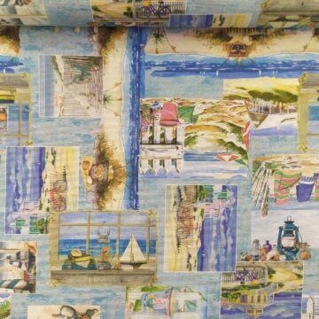 Bútorvászon – Tengerpartos képekkel, LONETA