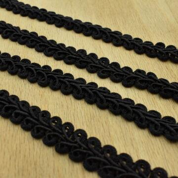 Bortni – Fekete színben, 12mm