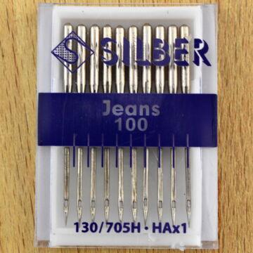 SILBER varrógéptű – Háztartási géphez, Farmer varrótű 100