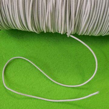 Kalapgumi – Hengeres kalapgumi fehér színben, 1,5mm