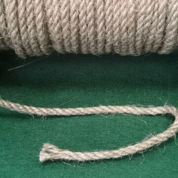 Zsinór - Juta kötél, sordrott, 4mm átmérőjű