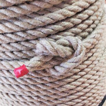 Zsinór - JUTA kötél sodrott, 10mm átmérőjű