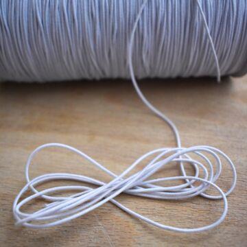 Kalapgumi – Hengeres kalapgumi fehér színben, 1mm