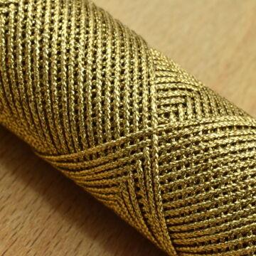 Fémszálas zsinór – Lurex borítással, arany színben, 1,3mm