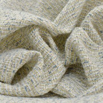 Chanel szövet – Kék-fehér szálból, lurexes