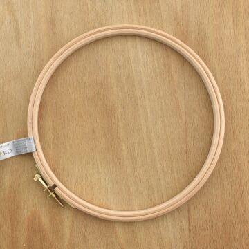Milward hímzőráma – Fa hímzőkeret, 17cm