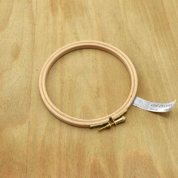 Milward hímzőráma – Fa hímzőkeret, 12cm