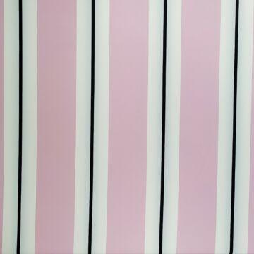 Scuba – Rózsaszín, fehér és fekete csíkos mintával