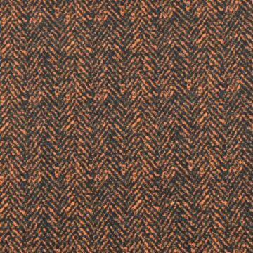 Scuba – Fekete és narancs halszálka mintával