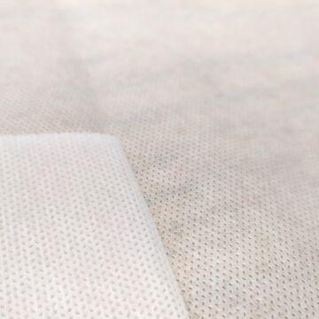 Nemszőtt textília – Szájmaszk anyag fehér színben, 60gr/m2