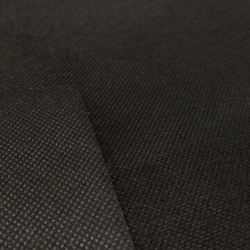 Nemszőtt textília – Szájmaszk anyag fekete színben, 80gr/m2