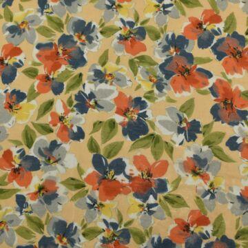 Batiszt – Kék-naracs virágos mintával