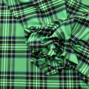 Flanel – Kockás mintával, zöld színben