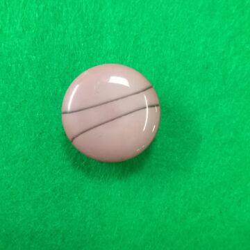 Műanyag gomb – Polli mályva színben, 24-es