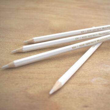 Jelölő ceruza – Fehér színben, Koh-I-Noor
