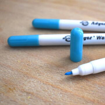 Illanó jelölőfilc – Vízre illanó, kék színben