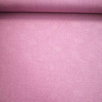Műszál szövet – Halvány lila, vonalas mintával