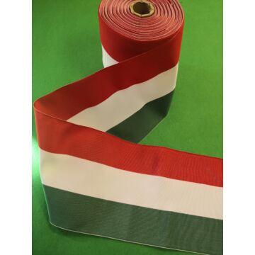 Nemzeti szalag – Magyar nemzeti színű szövött szalag, 140 mm