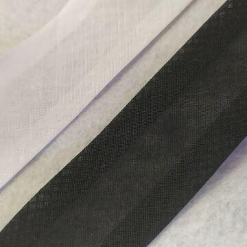Ferdepánt - Pamut, 30mm, fekete és fehér