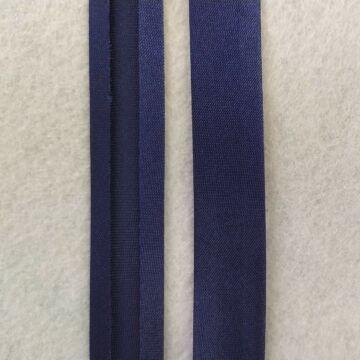 Ferdepánt - Szatén, 20mm, sötétkék (6425)