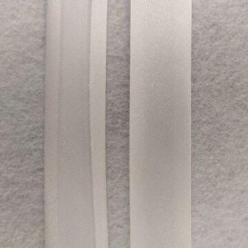 Ferdepánt - Szatén, 20mm, fehér