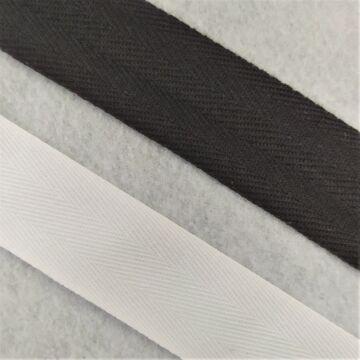 Köper szalag - Fekete és fehér, 30mm