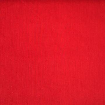 Pamutvászon – Piros színű üni