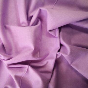 Pamutvászon – Halvány lila színű üni
