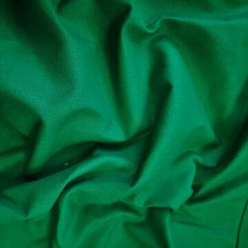 Pamutvászon – Fűzöld színű üni