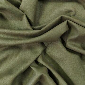 Pamutvászon – Keki zöld színű üni
