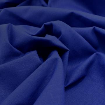 Pamutvászon – Sötétkék színű üni, 160cm széles!
