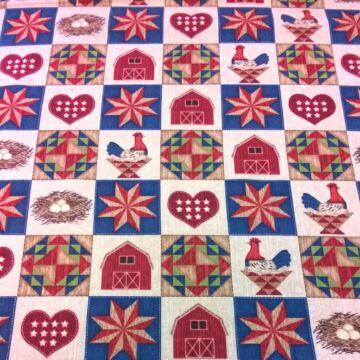Patchwork textil