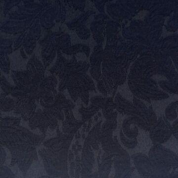 Jacquard 317 – Sötétkék színű virág mintával