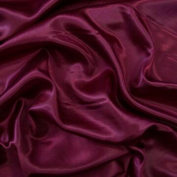 Dekor szatén –  Bordó színű üni