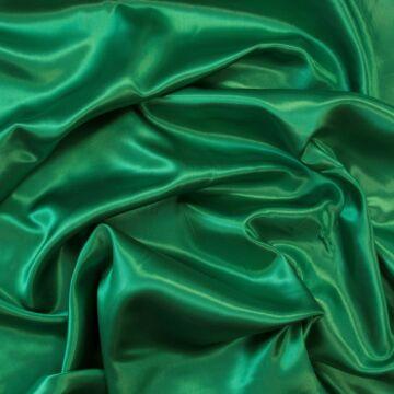 Dekor szatén –  Zöld színű üni