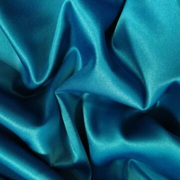 Nehéz szatén – Türkiz színű üni
