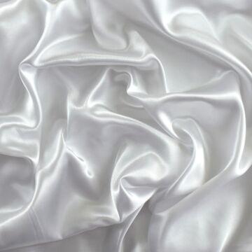 Dekor szatén –  Fehér színű üni
