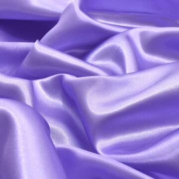 Dekor szatén – Levendula lila színű üni