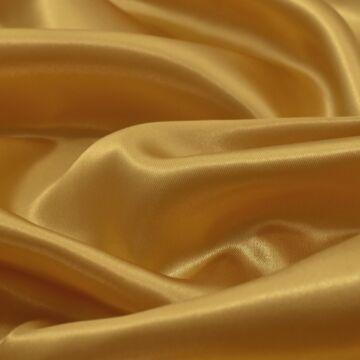 Dekor szatén – Aranysárga színű üni