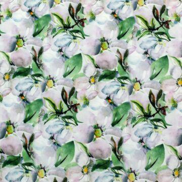 Selyem – Super soft, pasztell virágos mintával