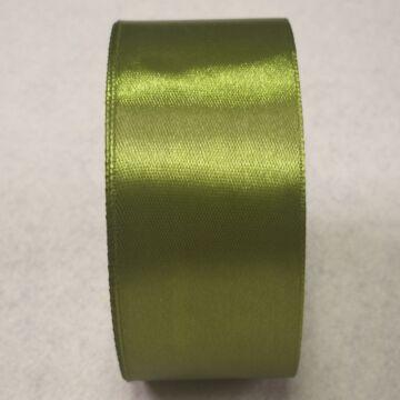 Szatén szalag – Mohazöld színben, 4cm