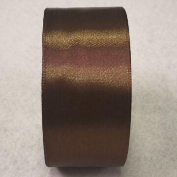 Szatén szalag – Sötétbarna színben, 4cm