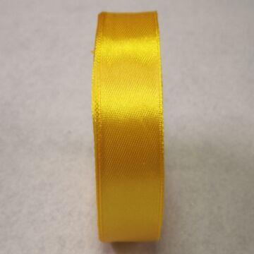 Szatén szalag – Napsárga színben, 2cm