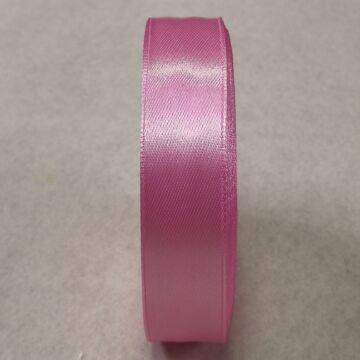 Szatén szalag – Rózsaszín színben, 2cm