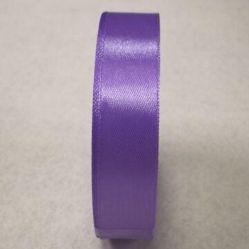 Szatén szalag – Levendula lila színben, 2cm